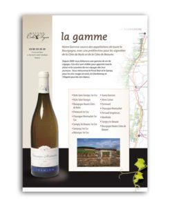 Plaquette Vin Bourgogne