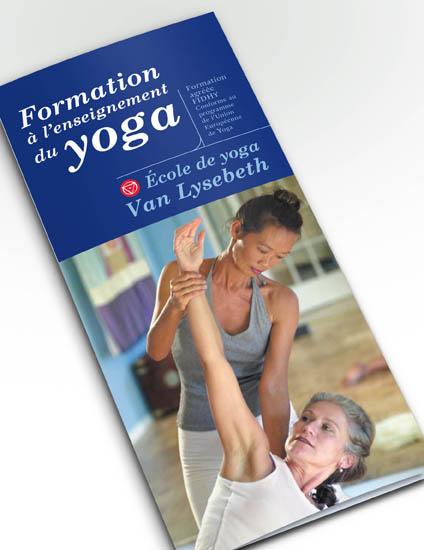 Dépliant Centre de Yoga