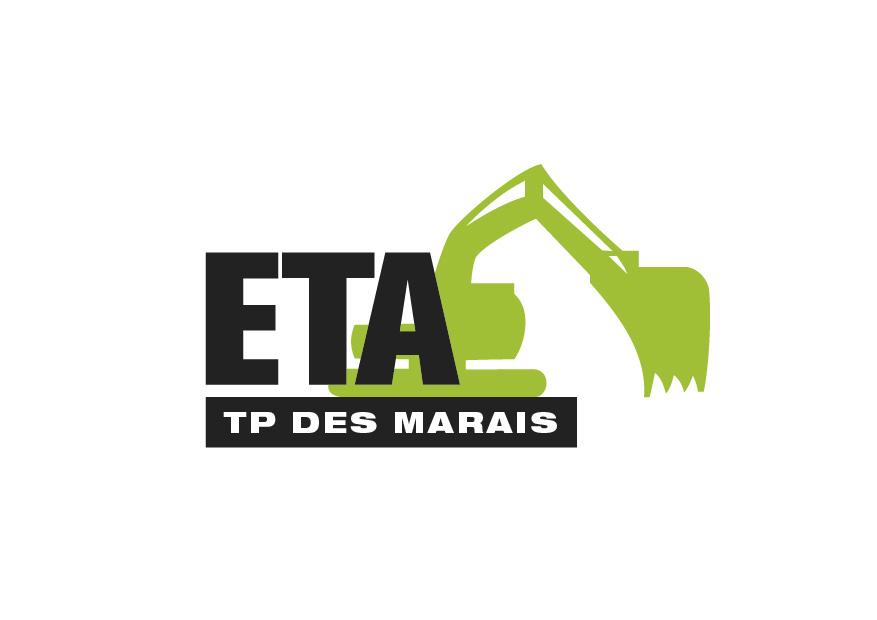 Création logo pour ETA des Marais