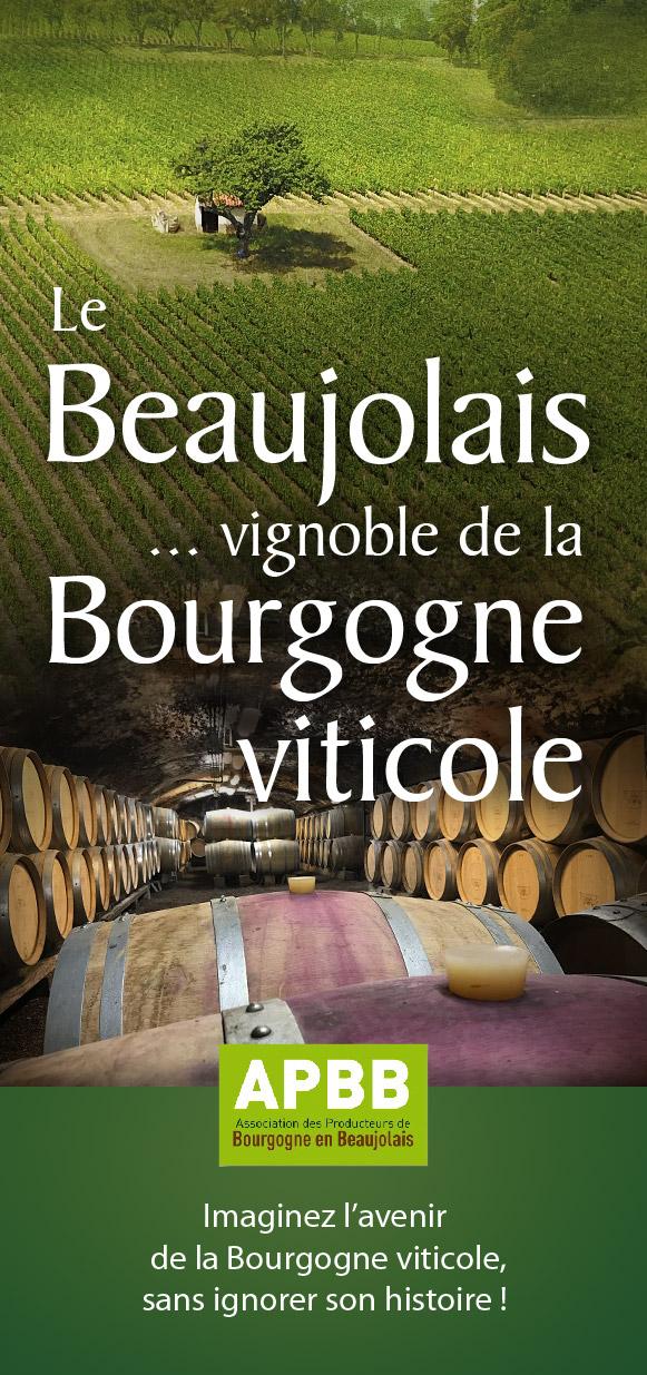 Dépliant Vignobles du Beaujolais