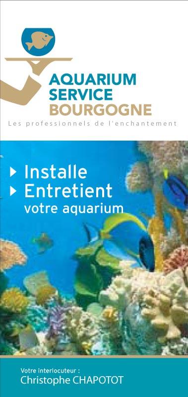 Dépliant Aquarium Service
