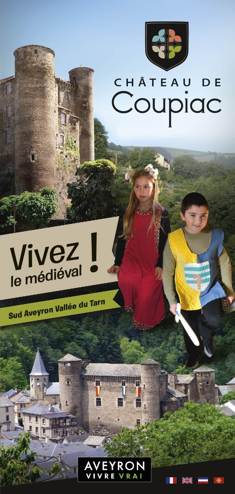 Dépliant touristique – Château de Coupiac
