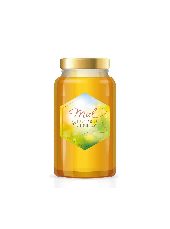 Packaging Miel aveyronnais