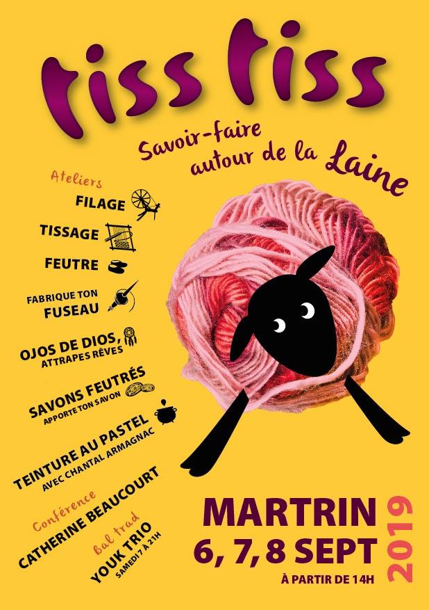 Dépliant Festival de la Laine en Aveyron